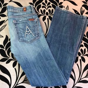 Girls 7 for all Man Kind jeans